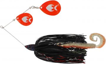 Westin Monster Vibe Colorado black mamba roofvis spinnerbait 65g