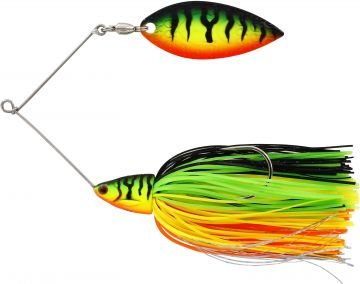 Westin Monster Vibe crazy firetiger roofvis spinnerbait 23g
