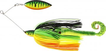 Westin Monster Vibe crazy firetiger roofvis spinnerbait 65g