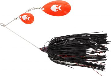 Westin MonsterVibe (Indiana) black mamba roofvis spinnerbait 45g