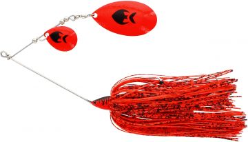 Westin MonsterVibe (Indiana) red tiger roofvis spinnerbait 45g