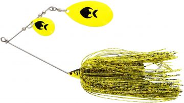 Westin MonsterVibe (Indiana) yellow tiger roofvis spinnerbait 45g
