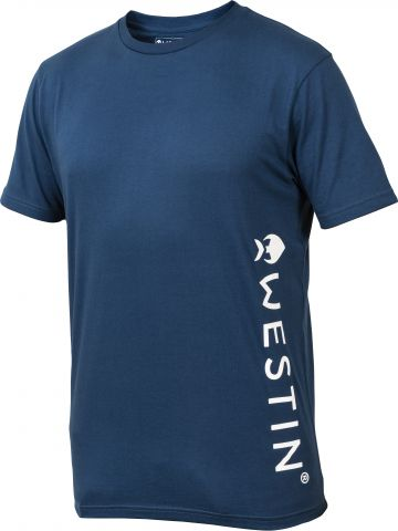 Westin Pro T-Shirt blauw vis t-shirt X-small