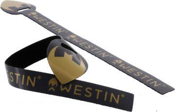 Westin Rod Tie per 2 (hengelband) ZWART roofvis spinhengel