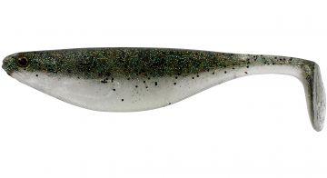 Westin Shad Teez SPARKLING GREEN shad per stuk 9cm 7g