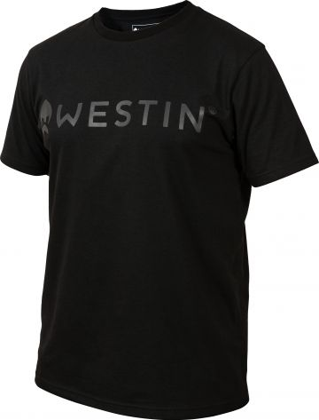 Westin Stealth T-Shirt zwart vis t-shirt Large