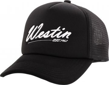 Westin Super Duty Trucker Cap zwart - wit pet One Size