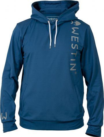 Westin Tech Hoodie blauw vistrui Medium