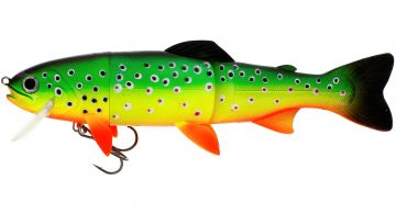Westin Tommy The Trout LF crazyfiretiger roofvis kunstaas 15cm 37g