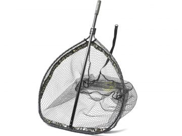 Westin W3 CR Landing net black roofvis visschepnet Xx-large