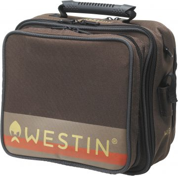 Westin W3 Rig Bag bruin roofvis roofvistas Large
