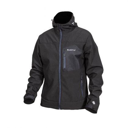 Westin W4 Super Duty Softshell Jacket seal black visjas Small