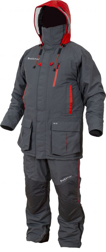 Westin W4 Winter Suit Extreme steel grey warmtepak Small