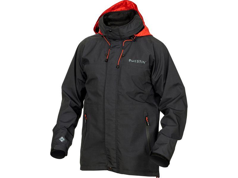 Westin W6 Rain Jacket Steel Black black visjas Large