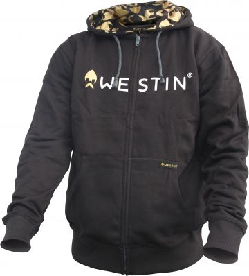 Westin Zip Hoody BLACK vistrui