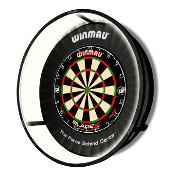 Winmau Plasma Dartboard Light zwart