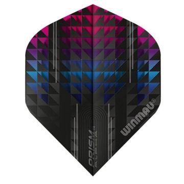 Winmau Prism Alpha Pulsar Standard noir - multi 100 Micron