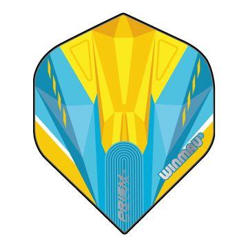 Winmau Prism Delta Blue & Yellow Standard bleu - jaune 100 Micron