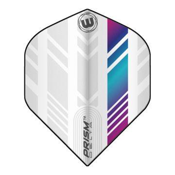 Winmau Prism Delta Extra Thick Standard blanc - multi 100 Micron