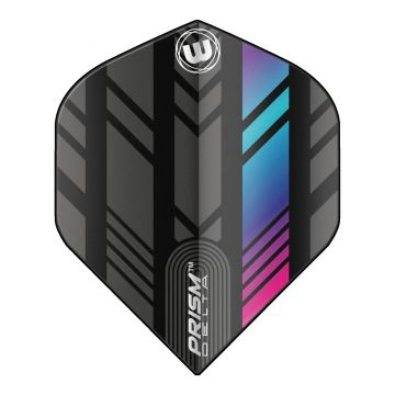 Winmau Prism Delta Extra Thick Standard noir - multi 100 Micron