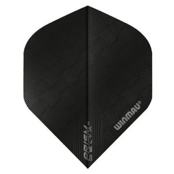 Winmau Prism Delta Hex Black Standard noir 100 Micron