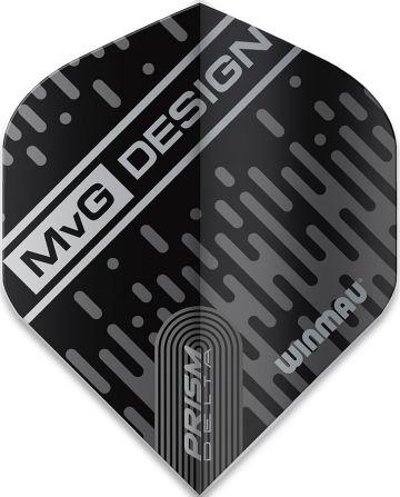 Winmau Prism Delta MVG Standard zwart - grijs 100 Micron