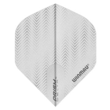 Winmau Prism Delta V White Standard blanc 100 Micron