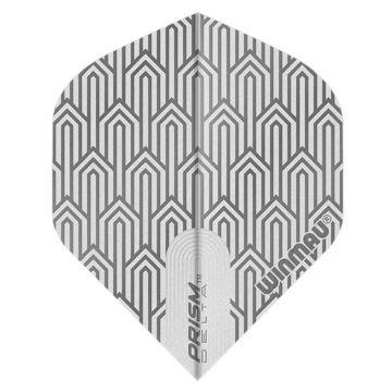 Winmau Prism Delta White Standard blanc 100 Micron