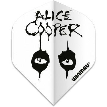 Winmau Rock Legends Alice Cooper White Standard multi 100 Micron