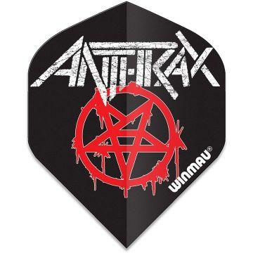 Winmau Rock Legends Anthrax Logo Standard multi 100 Micron
