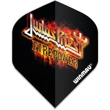 Winmau Rock Legends Judas Priest Flaming Std multi 100 Micron