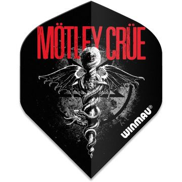 Winmau Rock Legends Motley Crue Feelgood Std multi 100 Micron
