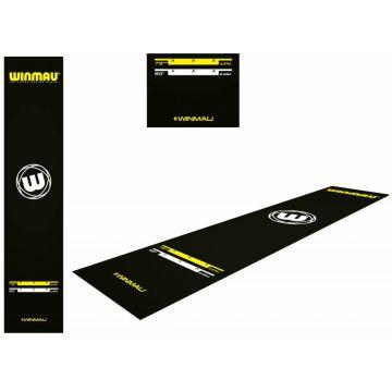 Winmau Xtreme Dart Mat zwart 300x65cm