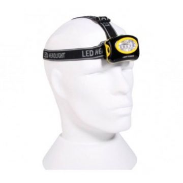 Yokozuna Headlamp noir - jaune