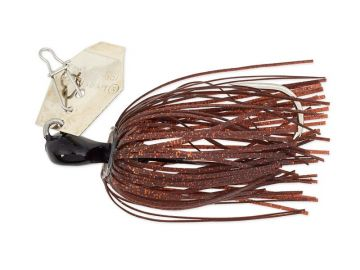 Z-man ChatterBait Mini brown black roofvis spinnerbait 7g
