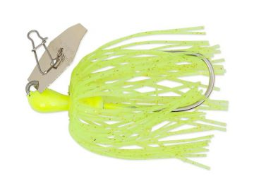 Z-man ChatterBait Mini chartreuse roofvis spinnerbait 7g