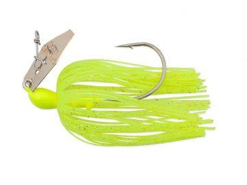 Z-man Original ChatterBait chartreuse roofvis spinnerbait 14g