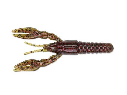 Z-man Punch CrawZ green pumpkin red roofvis creature bait 4.00 Inch