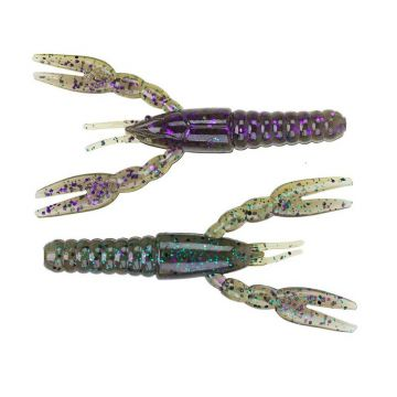 Z-man Punch CrawZ sprayed grass shad 4.00 Inch
