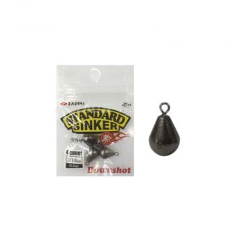 Zappu Standart Sinker Downshot metaal roofvis vislood 3.5g